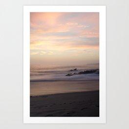 Slow Sunset Art Print
