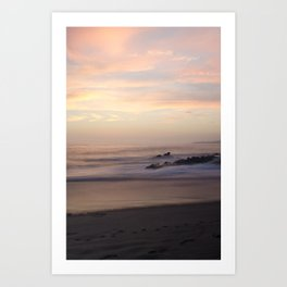 Slow Sunset Art Print