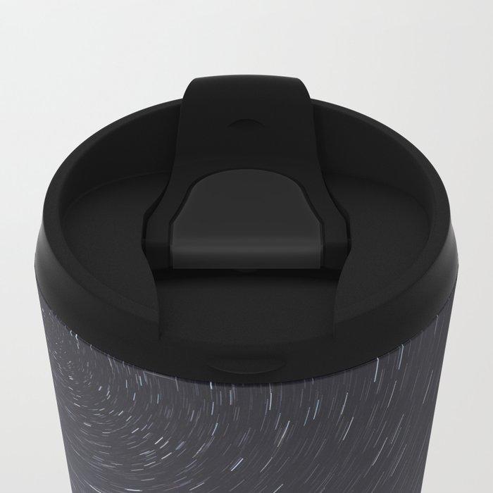 Star Trailing Metal Travel Mug