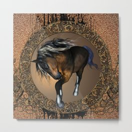 Awesome horse Metal Print