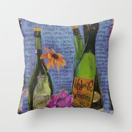 WOODINVILLE WINERIES Throw Pillow