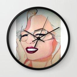 Norma Jeane Baker Wall Clock