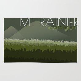 Gorgeous Mount Rainier Rug