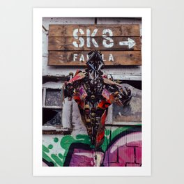 sk8 Art Print