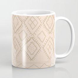 Beni Moroccan Print in Tan Coffee Mug