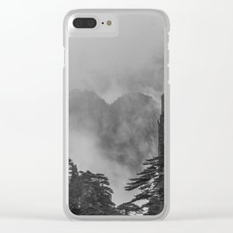 The Fleeting Heart Clear iPhone Case