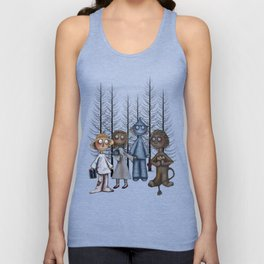 Dorothy and Friends  Unisex Tank Top