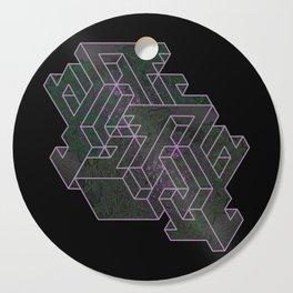 Distorting Darkness Cutting Board