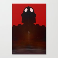 Iron Red Canvas Print