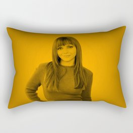 Christina Ricci Rectangular Pillow