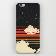 Clouds in the Sky at Night iPhone Skin