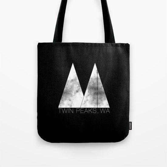 Twin Peaks, WA (White Lodge) Tote Bag
