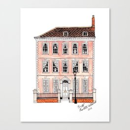 Queens Square Bristol by Charlotte Vallance Canvas Print