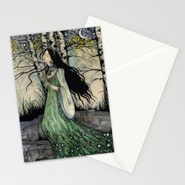 Malachite Maid Stationery Cards