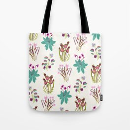 Carnivorous Plants Light Tote Bag