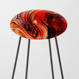 Fire Counter Stool