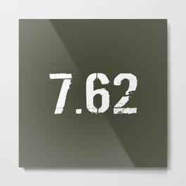 7.62 Ammo Metal Print