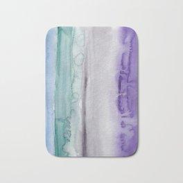 31    190907   Watercolor Abstract Painting Bath Mat