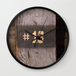 13 - Reference on Mining Tour Wall Clock