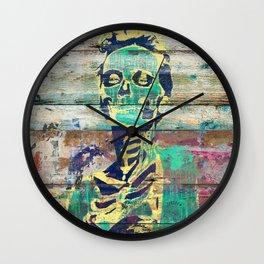 Life and Dead (Sugar Skull Girl) Wall Clock