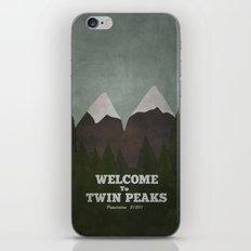 Welcome to Twin Peaks iPhone Skin