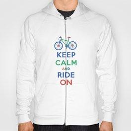 Keep Calm and Ride On Hoody