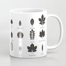 European Tree Leaves Coffee Mug