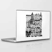 amsterdam Laptop & iPad Skins featuring Amsterdam by Sol Fernandez