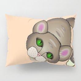 Sad cat Pillow Sham