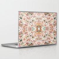 minerals Laptop & iPad Skins featuring Mystic Minerals by Caroline Sansone