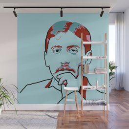 Marcel Proust Wall Mural