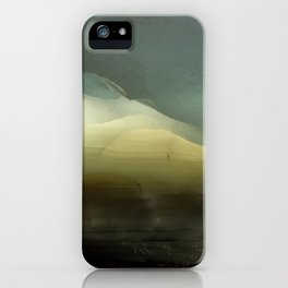 The ice that hides in the desert iPhone Case