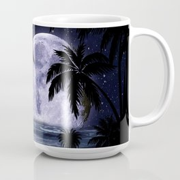 A night at the beach in paradise Coffee Mug