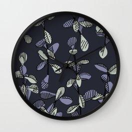 Blue Jade Way Wall Clock