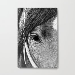 Soulful Expression Metal Print