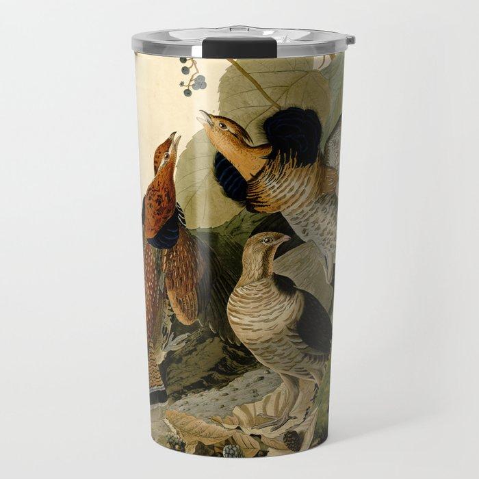 Ruffed Grouse (Bonasa umbellus) Travel Mug