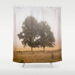 Morning's Mist Shower Curtain