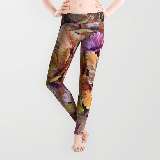 Flower carpet(48) Leggings