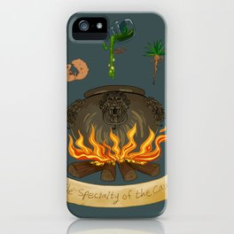 It's the specialty of the cave! iPhone Case