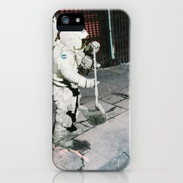 the moon is not here iPhone Case