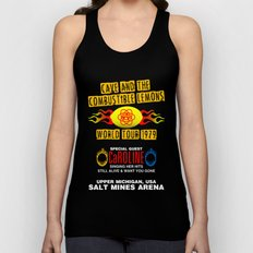 Cave & The Combustible Lemons Unisex Tank Top