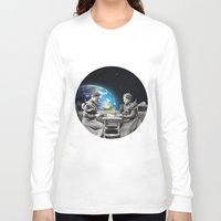 card Long Sleeve T-shirts featuring Card Game by Cs025