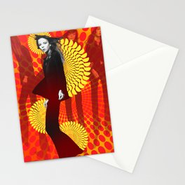 Supermodel Penelope 1 - Supermodels of the Sixties Series Stationery Cards