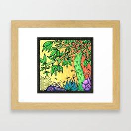 Ancient Tree Framed Art Print