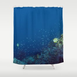 Small inhabitants of the Reef Shower Curtain