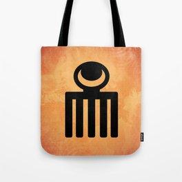 Duafe - Adinkra Art Poster Tote Bag
