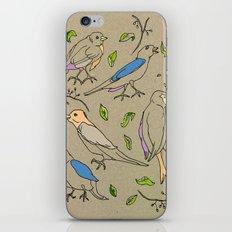 Singing Birds iPhone & iPod Skin
