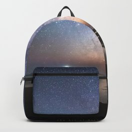 Stars Milky Way Mark Gee Space Nature Sky Coast Backpack
