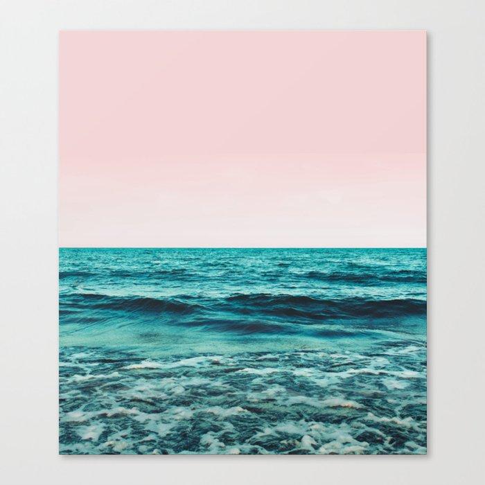 Ocean Love #society6 #oceanprints #buyart Canvas Print