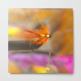 The Fly Tyer Metal Print